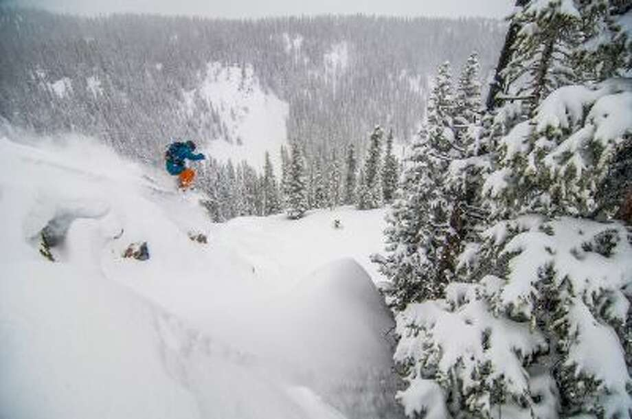 Known for its steep and technical terrain like this pillow line in the expert rated Teocalli Bowl, shown on Jan. 31, Crested Butte also has plenty of green, blue and black groomed runs for every ability of skier and snowboarder.