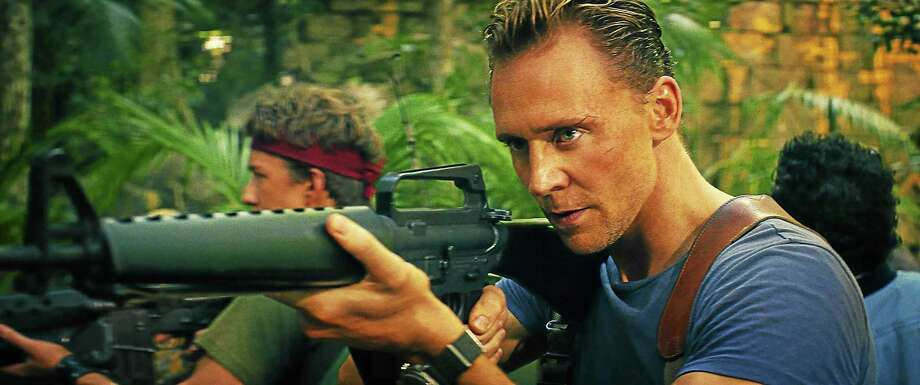 "COURTESY OF WARNER BROS. PICTURES (L-R) THOMAS MANN as Slivko and TOM HIDDLESTON as James Conrad in Warner Bros. Pictures', Legendary Pictures' and Tencent Pictures' action adventure ""KONG: SKULL ISLAND,"" a Warner Bros. Pictures release. Photo: Digital First Media / © 2016 Warner Bros. Entertainment Inc. All Rights Reserved."