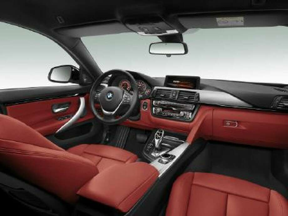 BMW 4 Series Gran Coupé interior. There are three trim levels available plus a host of options for customization and further exclusivity.