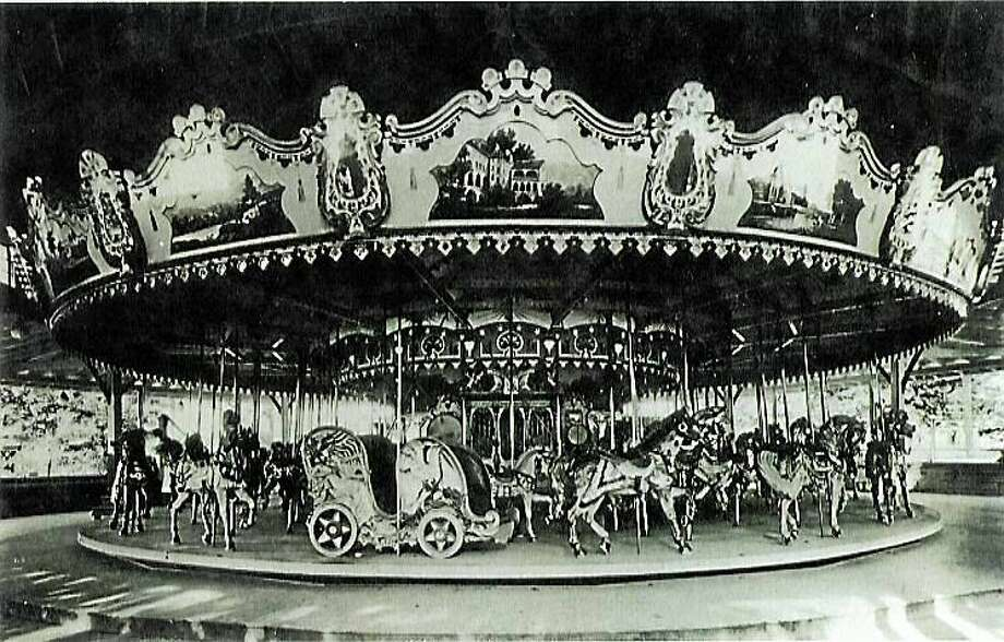 Contributed photo This 1920s Philadelphia Toboggan Company four-row carousel has been in storage for 40 years. Photo: Journal Register Co.