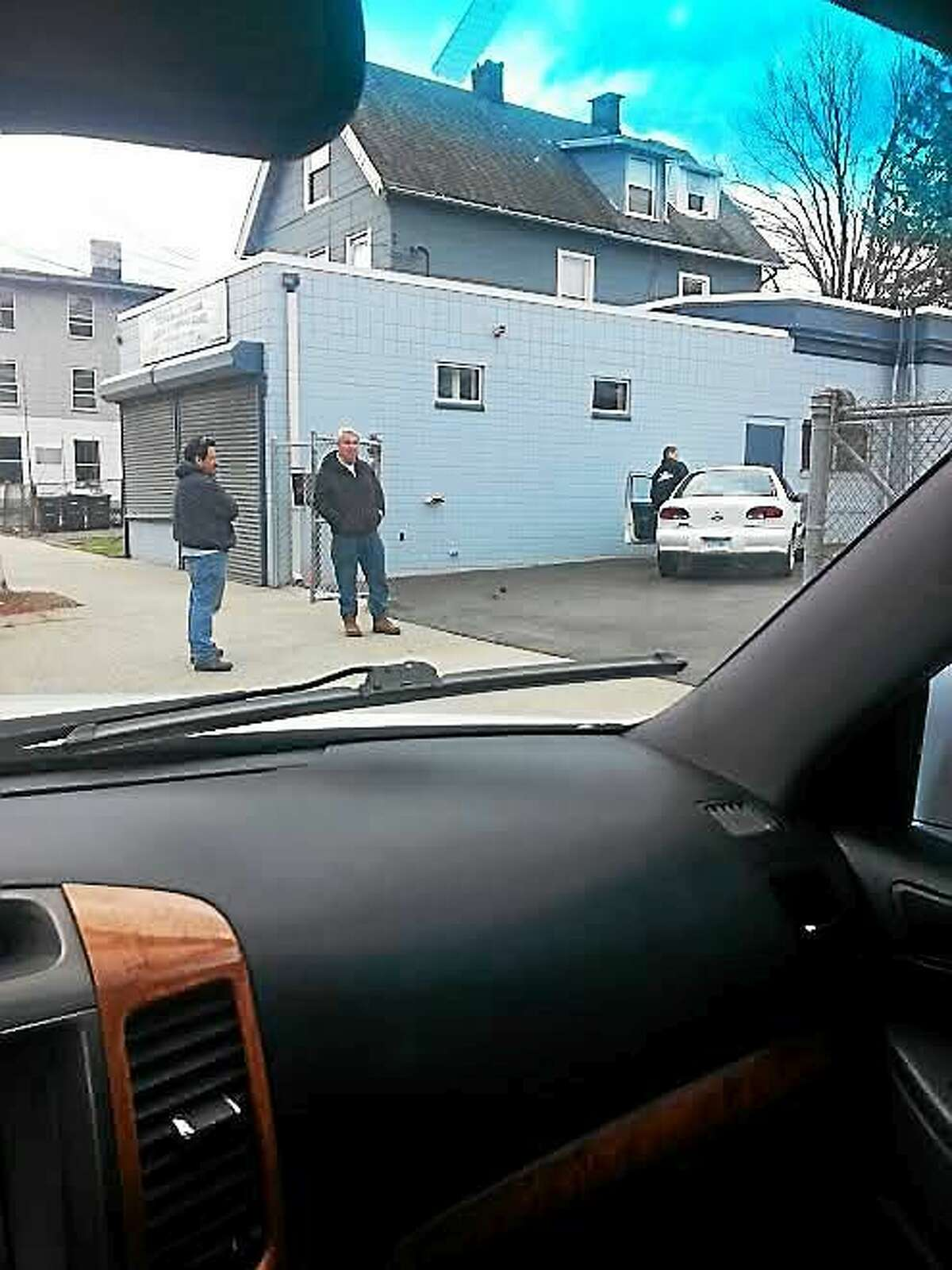 LCI in Parking Lot 316 Dixwell Ave. on April 24. Contributed photo