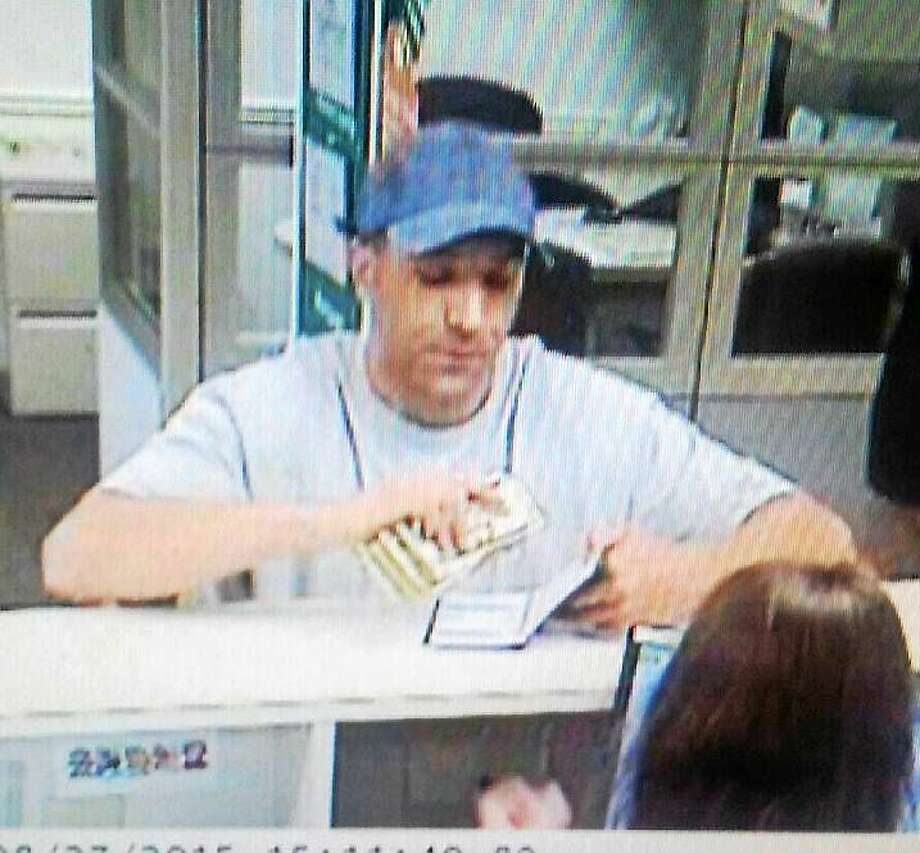 On August 27 around 3:15 p.m. state police responded to the Citizens Bank at 1187 Boston Post Road in Westbrook for a reported bank robbery. (Courtesy of Connecticut State Police) Photo: Journal Register Co.