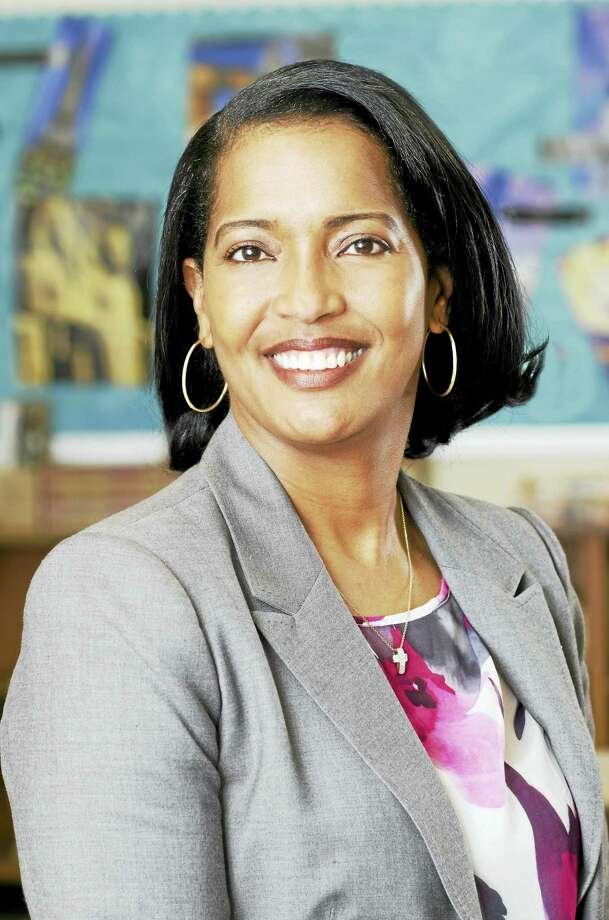 The Council of Chief State School Officers named Jahana Hayes as National Teacher of the Year on Thursday, April 28, 2016. Hayes teaches at John F. Kennedy High School in Waterbury and previously taught at James Hillhouse High School in New Haven. (Photo courtesy of Waterbury Public Schools) Photo: Journal Register Co.