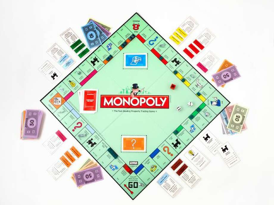 "This product image provided by Hasbro, shows the board game Monopoly. Hasbro has released a limited ""house rules"" edition of the popular board game. (AP Photo/Hasbro) Photo: AP / HASBRO"