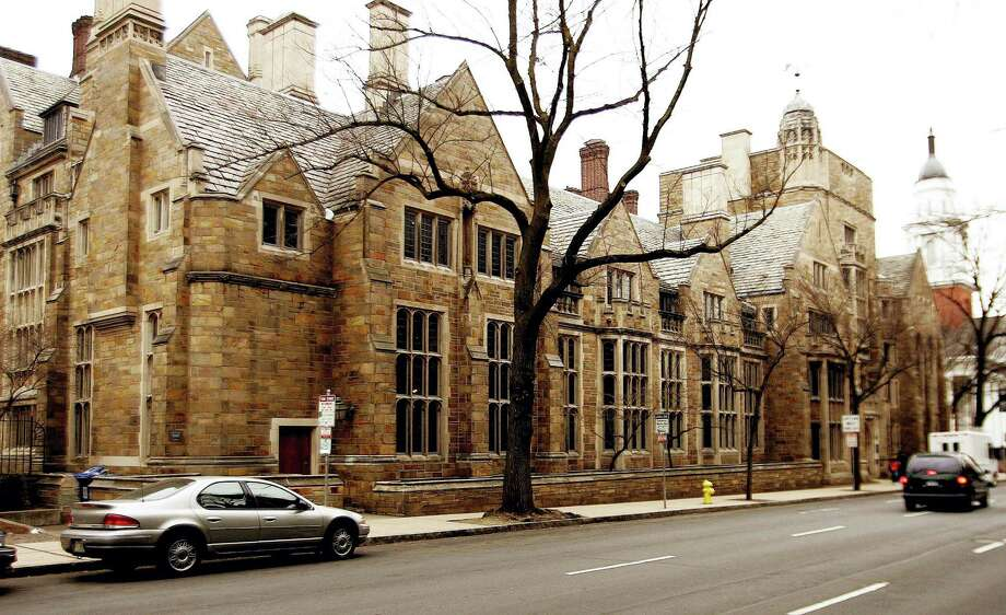 FILE - This Feb. 2, 2007 file photo shows Calhoun College, one of the 12 residential colleges housing Yale undergraduates at Yale University in New Haven, Conn. (AP Photo/Bob Child, File) Photo: AP / AP