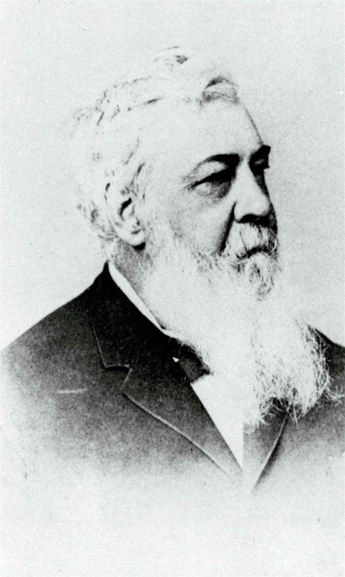 FILE - This is an 1860 file photo showing Alexander J. Cartwright. Modern baseball may have found its birth certificate. And with it a new birth date, and new founding father. Coinciding with the start of the major league season, a set of game-changing documents went up for sale this week. Their authenticity and significance are verified by experts including John Thorn, Major League Baseball's official historian. The documents were authored by Daniel Lucius