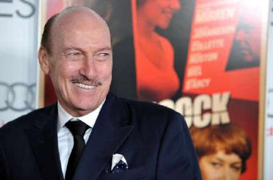 "In this Nov. 1, 2012 photo, Ed Lauter attends the ""Hitchcock"" gala screening as part of AFI Fest in Los Angeles on Thursday, Nov. 1, 2012. Lauter, whose long, angular face and stern bearing made him an instantly recognizable figure in scores of movies and TV shows during a career that stretched across five decades."