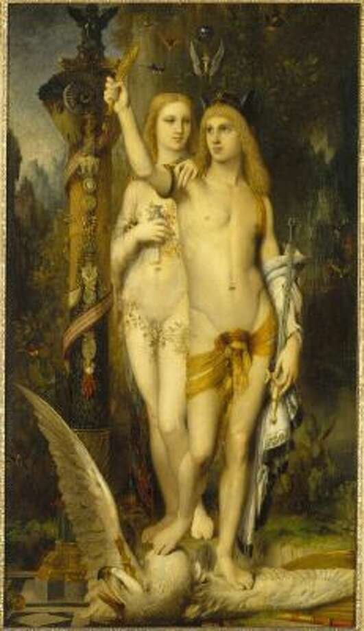 """Jason and Medea"" (1865) by Gustave Moreau is part of ""Masculin/Masculin _ The Nude Man in Art from 1800 to the Present Day"" at the Musee d' Orsay in Paris through Feb 2."