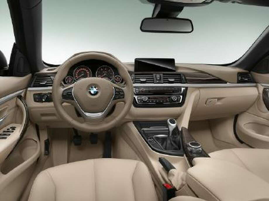 BMW 4 Series Convertible -- interior.