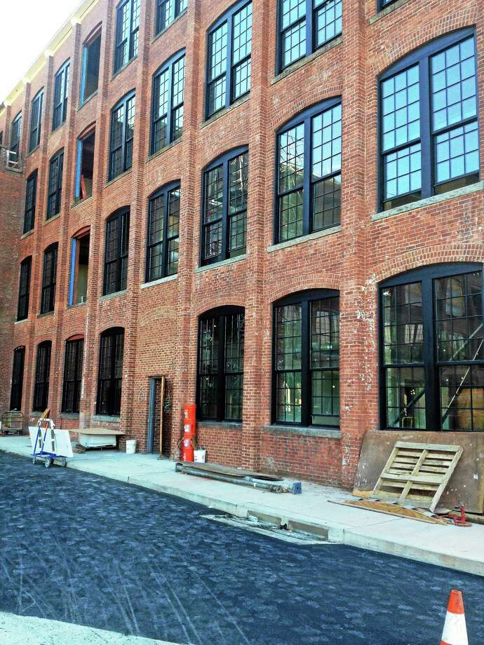 (Mary O-Leary - New Haven Register) A  view of Winchester Lofts off Winchester Avenue in New Haven Photo: Journal Register Co.