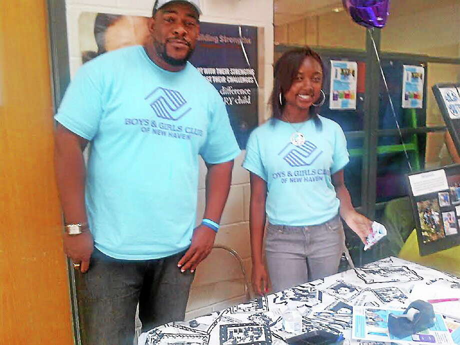 A Back to School Fair was held at the Elm City Communities/ Housing Authority of the city of New Haven Photo: Journal Register Co.