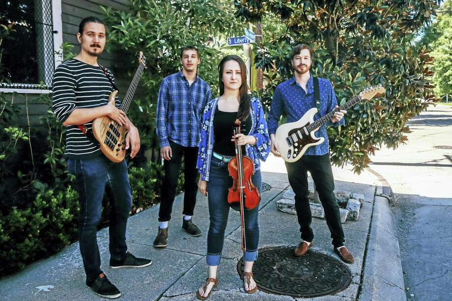 """NYCE RETURN: Nyce! — an eclectic pop, jazz, funk and indie rock group rooted in New Orleans and featuring Old Saybrook native Nic Lefebvre and Danielle Ryce of Louisiana, will return to The Katharine Hepburn Cultural Arts Center in Old Saybrook on Wednesday June 21 and recently released their new record """"Quarter Life Crisis."""" Tickets are $23 for the 7:30 p.m. show. Photo: Digital First Media"""