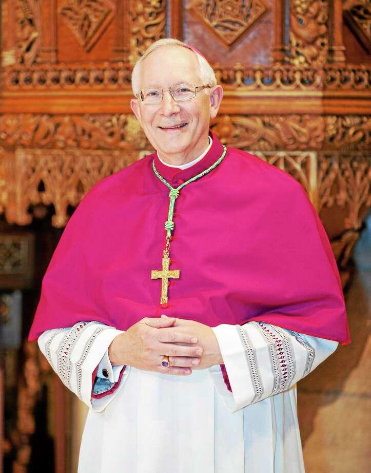 Archbishop Leonard Blair Photo: Journal Register Co. / Paul Kenney Studio419:472:8588