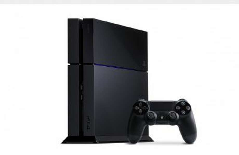 This undated photo provided by Sony shows the Sony Playstation 4. The latest Playstation 4 and its on-screen user interface has been streamlined, with a horizontal bar of large icons for games and apps.