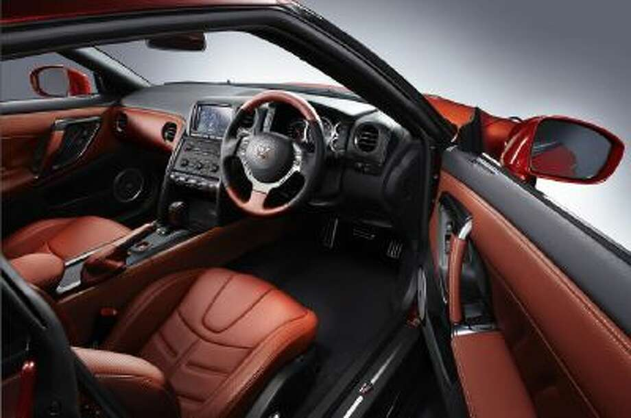 2014 Nissan GT-R The cabin gets a comfort upgrade.