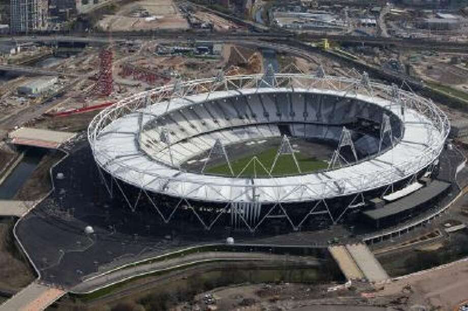 Britain Olympic Stadium was used for the 2012 London Games.