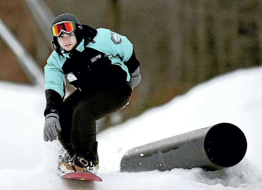 "Skiing at Powder Ridge on real snow will soon be supplemented with a year-round park that uses synthetic ""snow."" Photo: Digital First Media / New Haven RegisterThe Middletown Press"