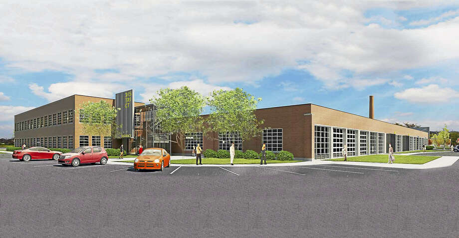 (Contributed - Kenneth Boroson Architects)  A rendering of District New Haven Photo: Journal Register Co.