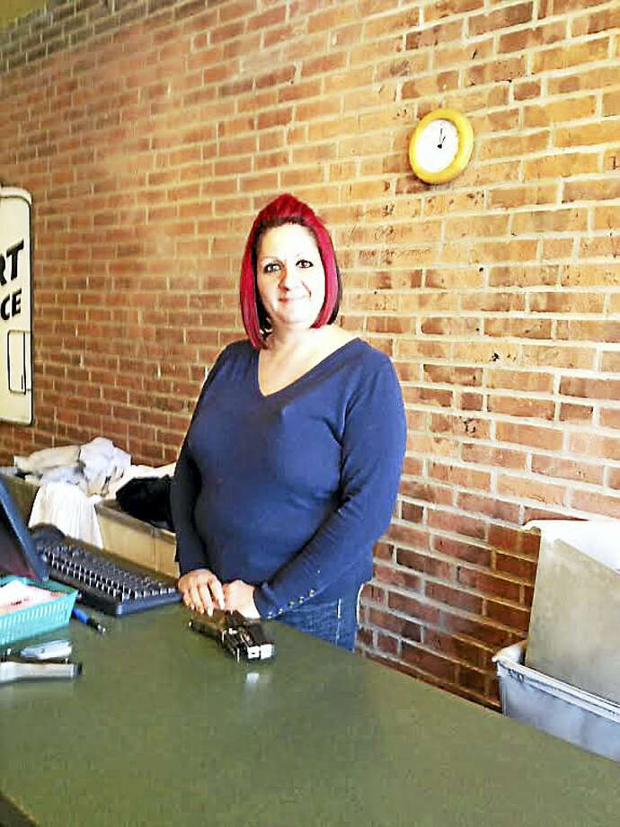 Mary O'Leary - New Haven RegisterCarla Esposito at Jet  Cleaners new location at 762 State St. She has worked at Jet for more than three decades. Photo: Digital First Media
