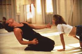 MV0224030000 1231_03 TNT 12-31-2000 8:00 PM Dirty Dancing Best Bet Patrick Swayze and Jennifer Grey become dance partners at a Catskills resort in the musical-drama movie ''Dirty Dancing,'' Sunday, Dec. 31 (8-10 p.m. ET) on TNT. 6x4 Color 72dpi Photos-Jay
