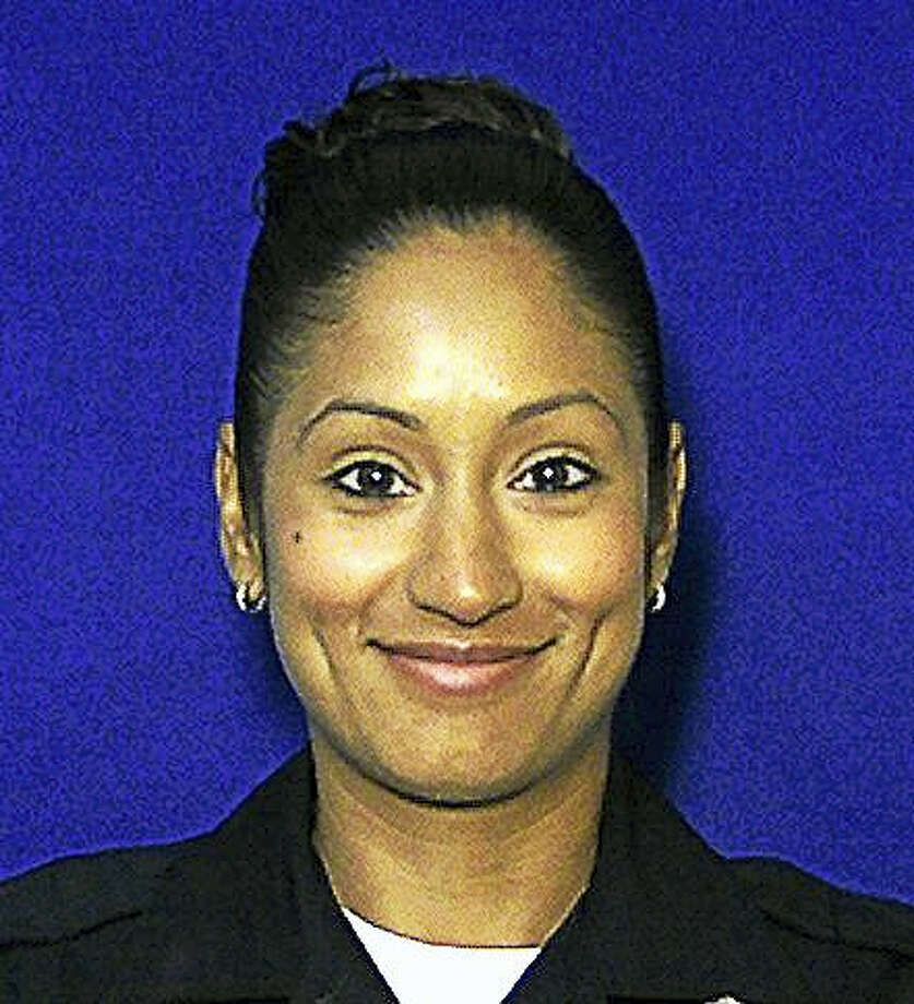 New Haven police Officer Lizmarie Almedina Photo: Digital First Media