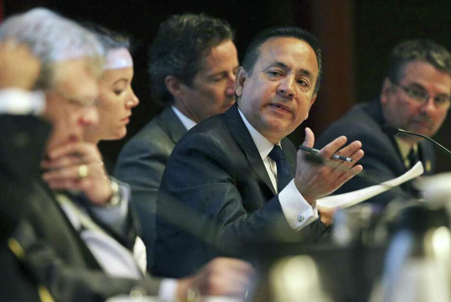 Senior U.S. District Judge David Alan Ezra on Wednesday rescheduled the start of state Sen. Carlos Uresti's criminal fraud trial following the death of a defense lawyer's father. Jury selection is now set for Jan. 18. Photo: Tom Reel /San Antonio Express-News / 2017 SAN ANTONIO EXPRESS-NEWS