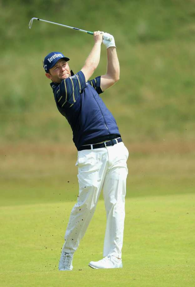 SOUTHPORT, ENGLAND - JULY 22:  Branden Grace of South Africa hits an approach shot during the third round of the 146th Open Championship at Royal Birkdale on July 22, 2017 in Southport, England.  (Photo by Andrew Redington/Getty Images) ORG XMIT: 775004450 Photo: Andrew Redington / 2017 Getty Images