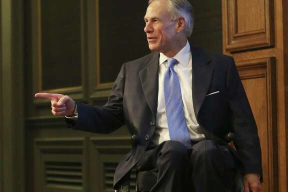 Texas Gov. Greg Abbott arrives at the Texas Public Policy Foundation's policy orientation for the special session last week. While raising money for campaigns is banned during a regular legislative session, the ban doesn't extend to special sessions. Abbott is actively seeking campaign contributions while Lt. Gov. Dan Patrick and House Speaker Joe Straus have said they won't accept them, saying they don't want to prompt any adverse comments.