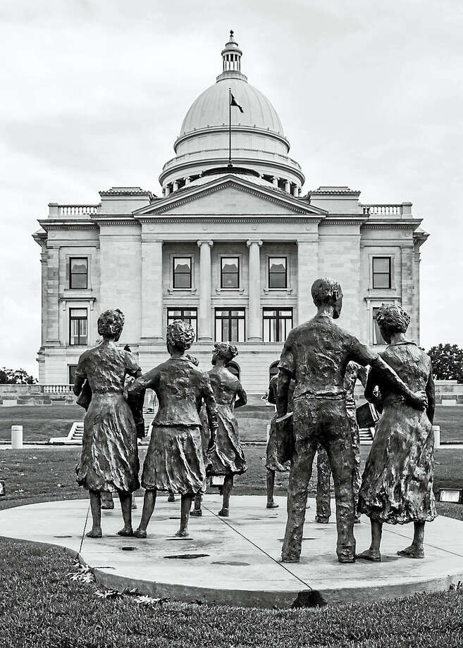 """Robert Lisak photo CAPITOL AMERICA: The Arkansas State Capitol in Little Rock, Arkansas is part of the exhibit of """"Capitol America"""" at New Haven Museum. On Thursday, photographers Robert Lisak and david Ottenstein will present """"Capitol America: Places Where Democracy Happens"""" at 5:30 p.m.  at the museum, 114 Whitney Ave., New Haven. Admission is free of charge. Photo: Digital First Media / ©Robert A. Lisak, 2014?"""