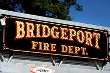 Bridgeport Fire Department engine, in Bridgeport, Conn. Sept. 22, 2016.