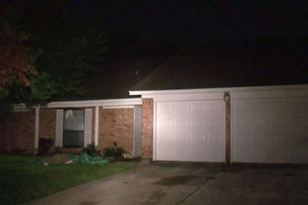 Lightning caused a small house fire late Saturday night.