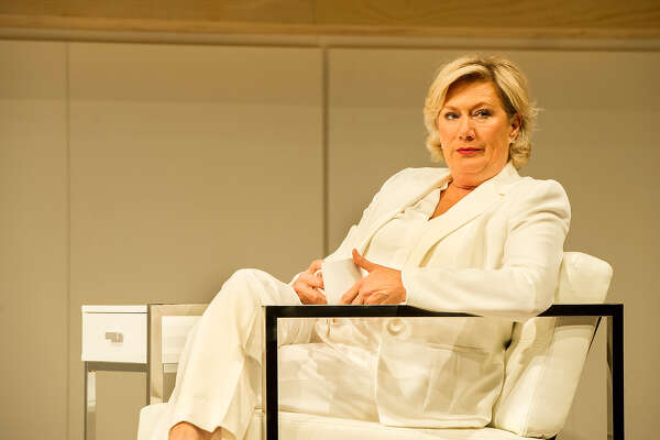 "Jayne Atkinson in ""The Clean House"" at Williamstown Theatre Festival. (WTF publicity photo by Daniel Rader.)"