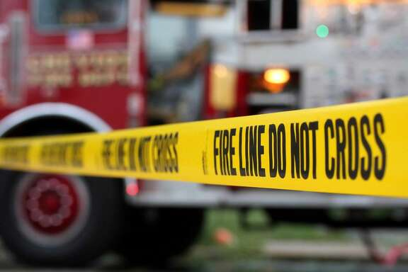 Firefighters battled a blaze at an apartment building near the UC Berkeley campus on Sunday.