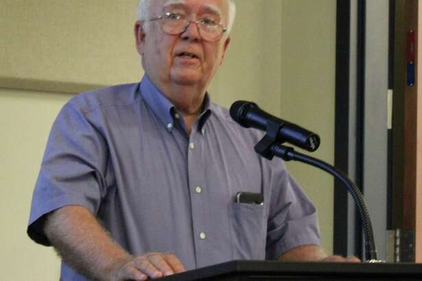 Barry Pennington addresses Cleveland City Council regarding a proposal to change street names to honor former Cleveland Royal Braves Band Director John Kunkel.