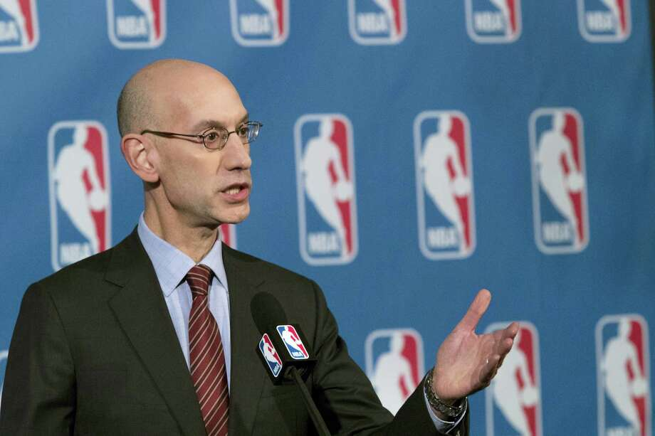 NBA Commissioner Adam Silver. Photo: The Associated Press File Photo   / Copyright 2016 The Associated Press. All rights reserved.
