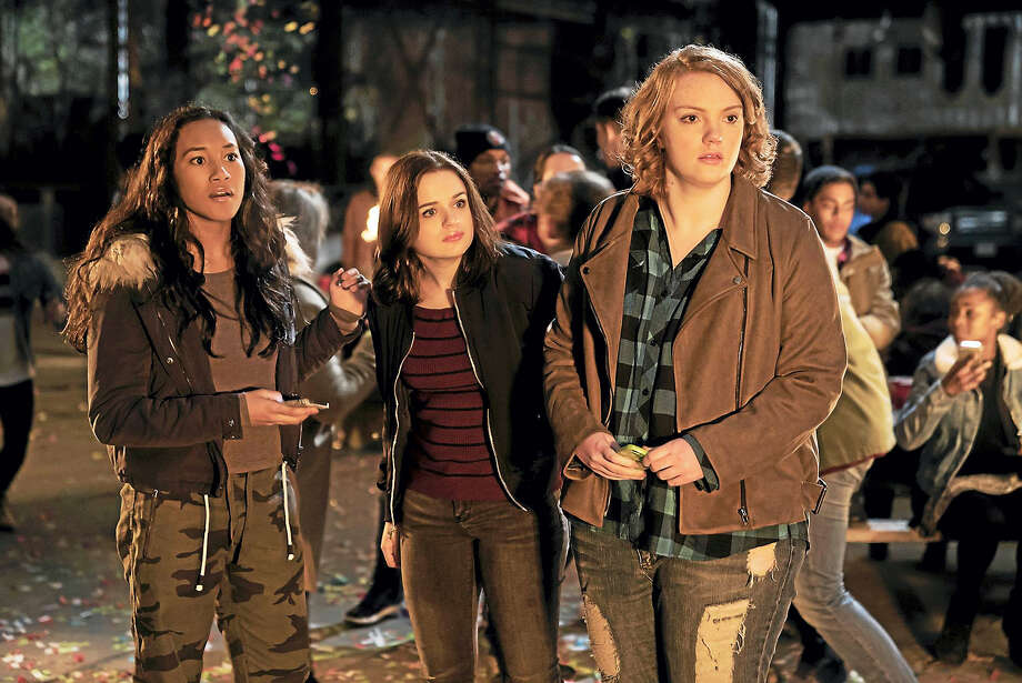 "From left, Sydney Park, Joey King and Shannon Purser in ""Wish Upon."" Photo: Steve Wilkie / Broad Green Pictures   / The Washington Post"