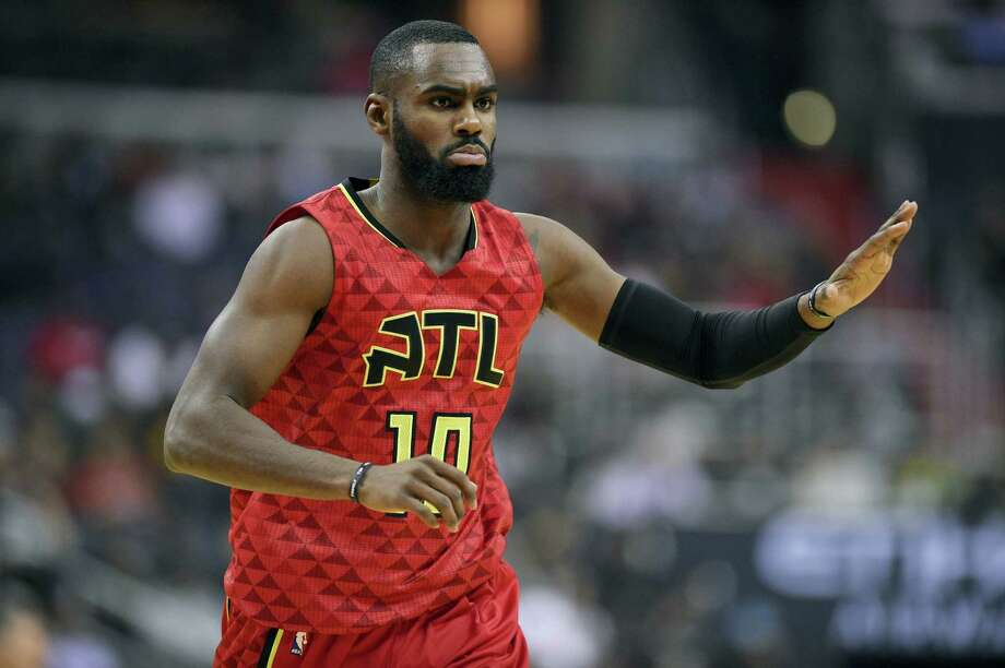 Tim Hardaway Jr. is back with the Knicks after signing a four-year, $71 million contract. Photo: The Associated Press File Photo   / FR67404 AP
