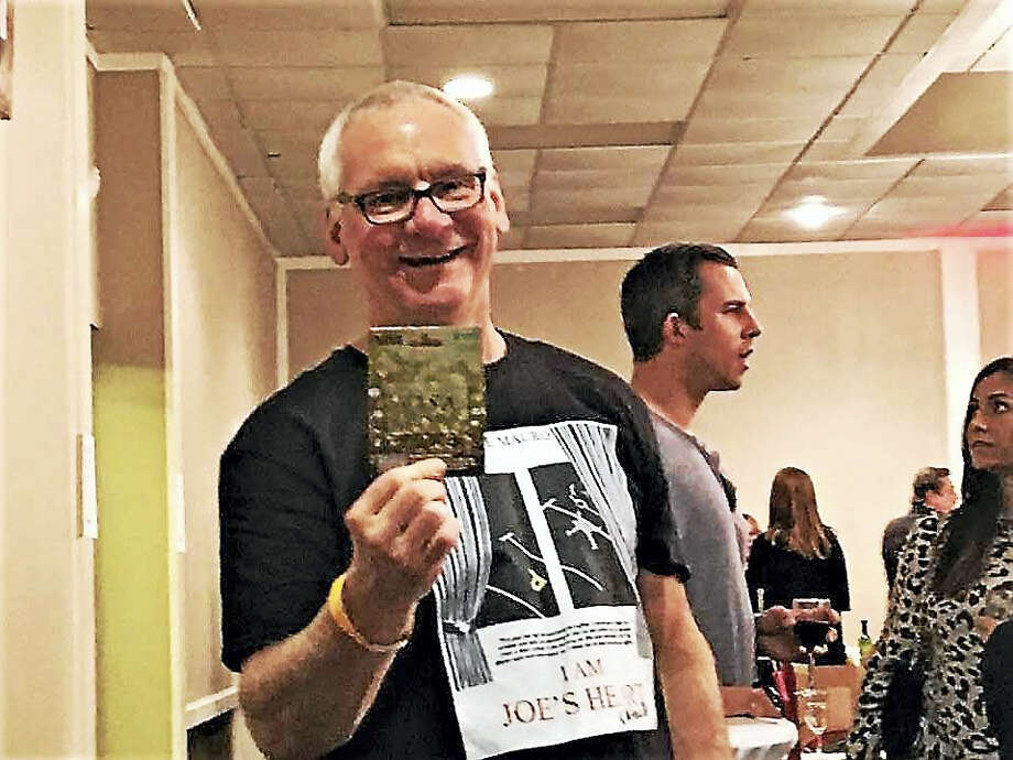 Author Joe Mauro wrote a lighthearted book about his own heart attack. Photo: CONTRIBUTED PHOTO / SUE MAURO