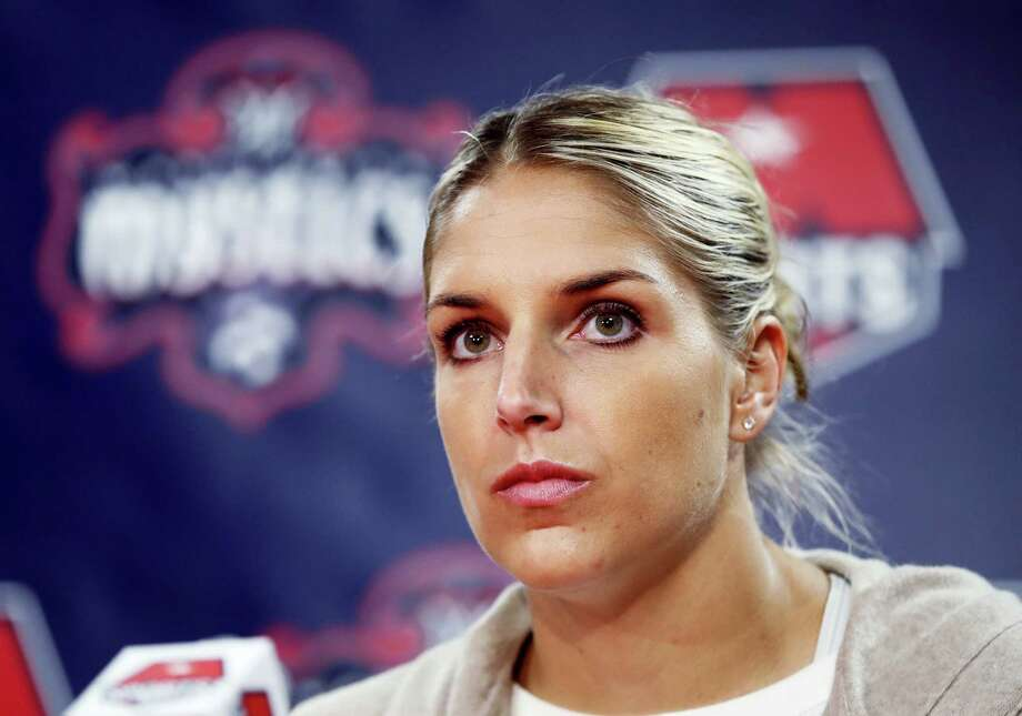 Elena Delle Donne is no stranger to the joys and hatred of social media. The Washington Mystics star saw both sides when she sent a tweet about Lakers rookie Lonzo Ball and his famous $495 shoe. Photo: The Associated Press File Photo   / Copyright 2017 The Associated Press. All rights reserved.