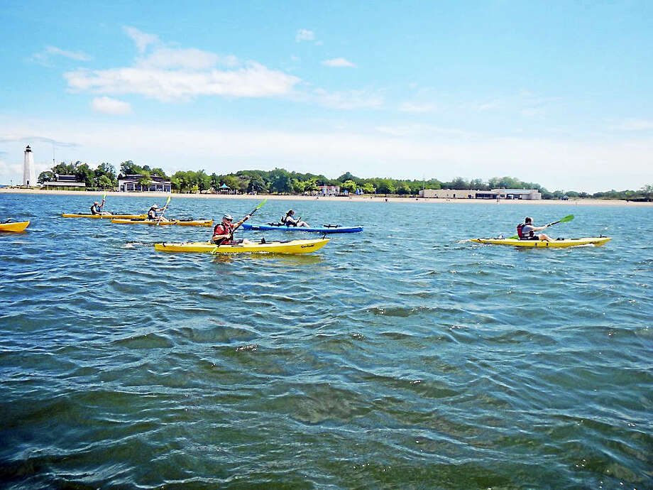 The New Haven Parks and Recreation Department is hosting public canoe and kayak tours this summer. Photo: New Haven Parks And Recreation