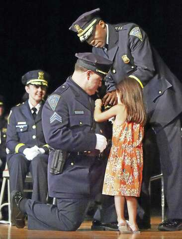New Haven Police Department celebrates largest number of
