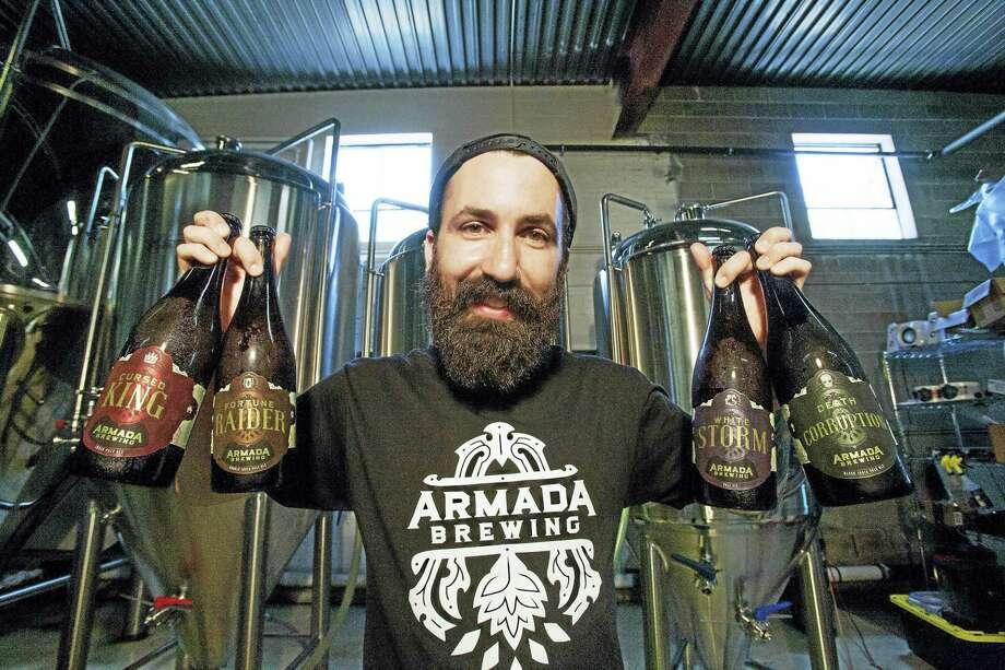 Armada Brewing's John Kraszewski Photo: CONTRIBUTED PHOTO