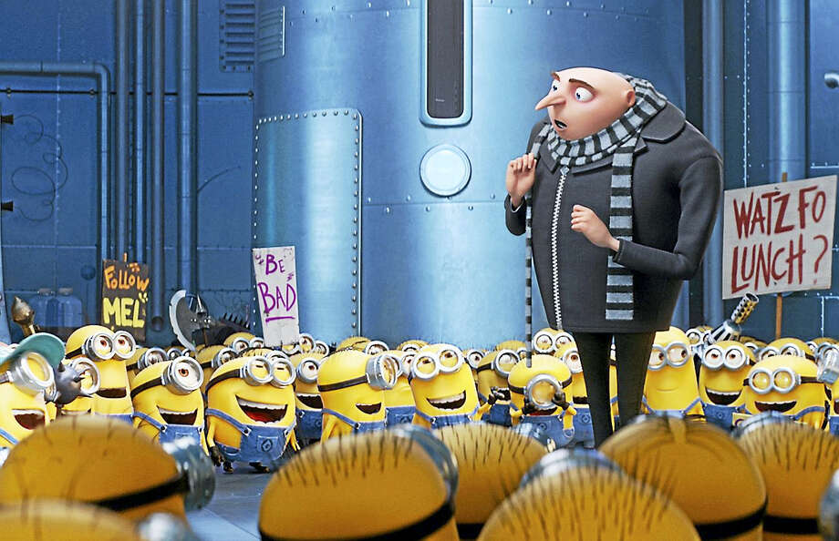 """Gru (voice of Steve Carell) and the Minions return in """"Despicable Me 3."""" Photo: Illumination-Universal Pictures   / Copyright: © 2017 Universal Studios."""