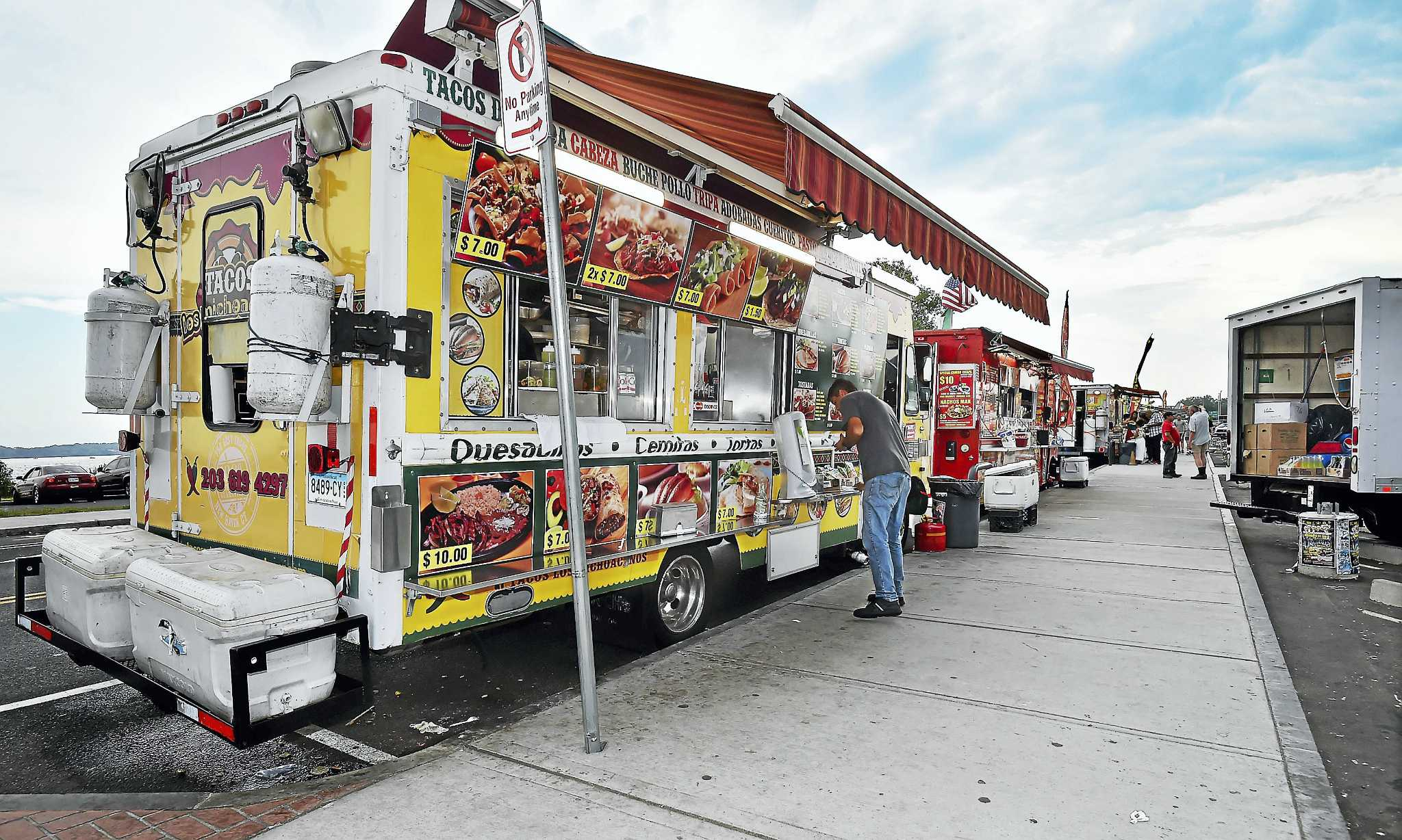 Long Wharf New Haven Food Trucks