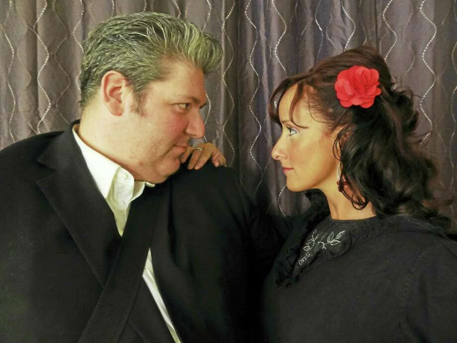 Brian Chicoine is Johnny Cash and Vicky St. Pierre is June Carter when Cash Is King comes to The Kate July 1. Photo: Photo Courtesy Of Cash Is King