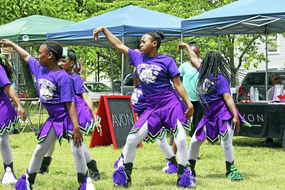 Dance moves at the Dixwell Pop-up Festival last year. Photo: Photo Courtesy Of Heaven Anderson