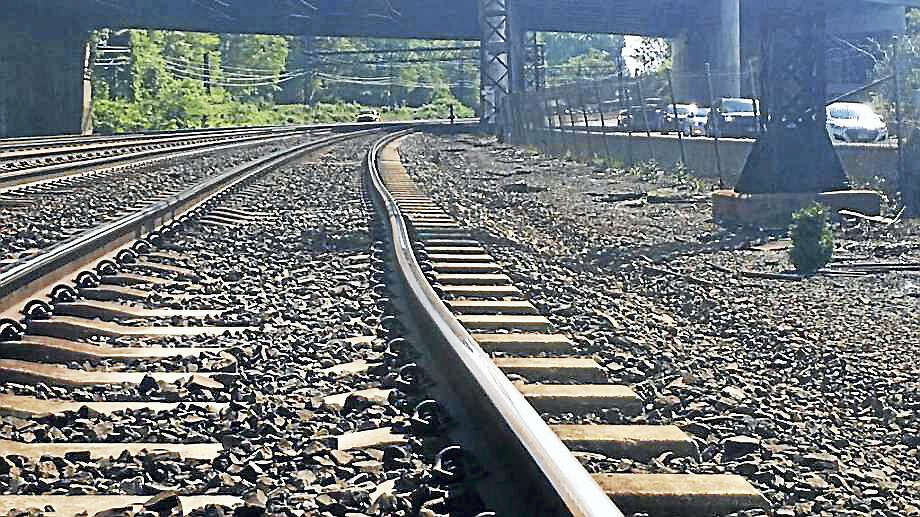 A bend in Metro North's track can be seen prior to the May 18 derailment near Rye N.Y. that injured 14 passengers and two crew members. Photo: Photo: National Transportation Safety Board / Contributed Photo