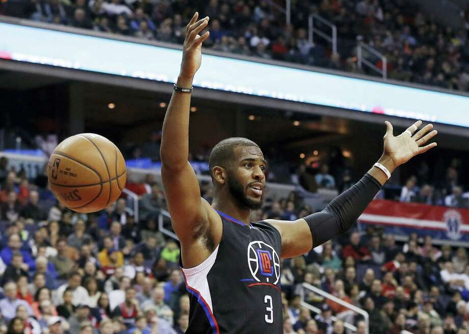 Chris Paul is reportedly headed to Houston after the Clippers and Rockets greed to a trade for the start point guard. Photo: The Associated Press File Photo   / Copyright 2017 The Associated Press. All rights reserved.