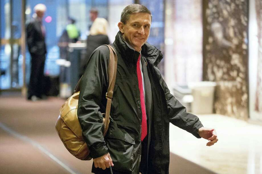 In this Jan. 3, 2017, file photo, Michael Flynn, then - President-elect Donald Trump's nominee for National Security Adviser arrives at Trump Tower in New York. Flynn will provide some documents to the Senate intelligence committee as part of its probe into Russia's meddling in the 2016 election. A person close to Flynn says that he will be turning over documents related to two of his businesses as well as some personal documents that the committee requested in May 2017. The person says that Flynn plans to produce documents by next week. Photo: Andrew Harnik — AP Photo, File   / Copyright 2017 The Associated Press. All rights reserved.