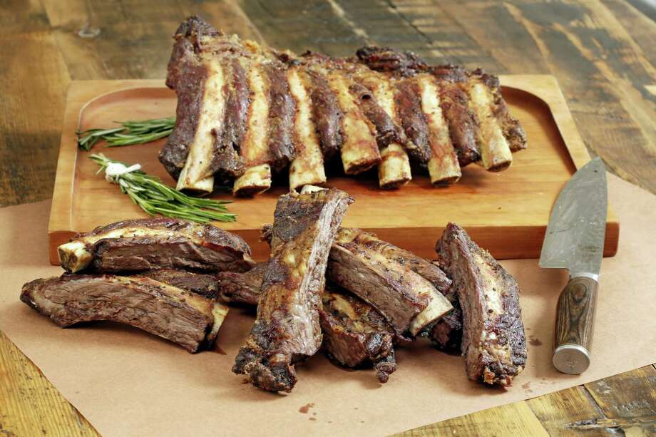 "Beef rib ""Brontosaurus Bones."" Photo: Richard Drew / The Associated Press   / AP"